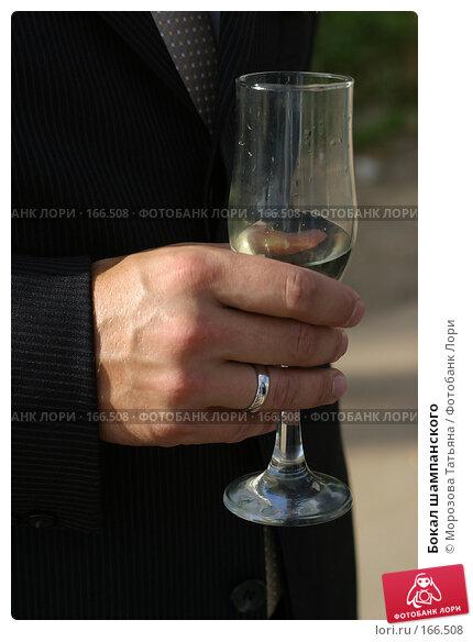 Бокал шампанского, фото № 166508, снято 22 сентября 2006 г. (c) Морозова Татьяна / Фотобанк Лори