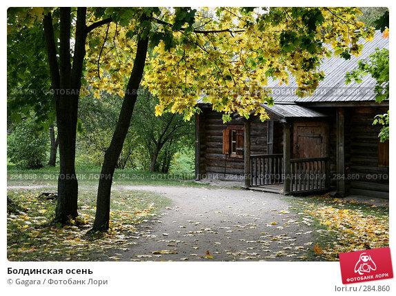 Болдинская осень, эксклюзивное фото № 284860, снято 28 сентября 2007 г. (c) Gagara / Фотобанк Лори