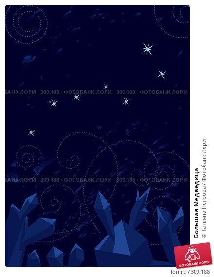 Большая Медведица, иллюстрация № 309188 (c) Татьяна Петрова / Фотобанк Лори