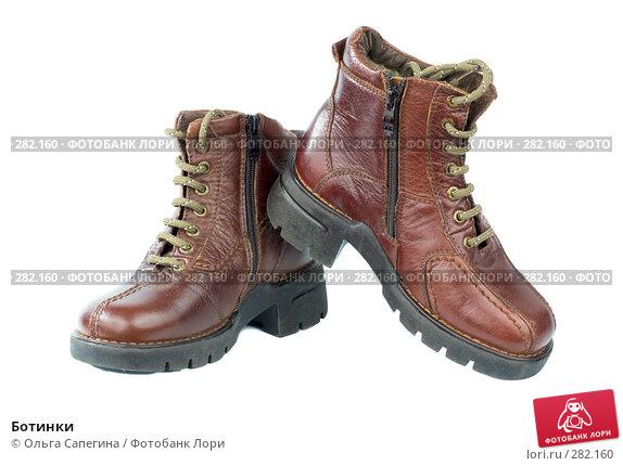 Купить «Ботинки», фото № 282160, снято 27 марта 2008 г. (c) Ольга Сапегина / Фотобанк Лори