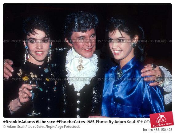 #BrookleAdams #Liberace #PhoebeCates 1985.Photo By Adam Scull/PHOTOlink... Редакционное фото, фотограф Adam Scull / age Fotostock / Фотобанк Лори