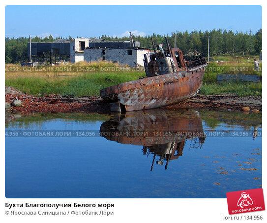 Бухта Благополучия Белого моря, фото № 134956, снято 16 августа 2007 г. (c) Ярослава Синицына / Фотобанк Лори