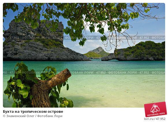 Купить «Бухта на тропическом острове», фото № 47952, снято 2 марта 2006 г. (c) Знаменский Олег / Фотобанк Лори