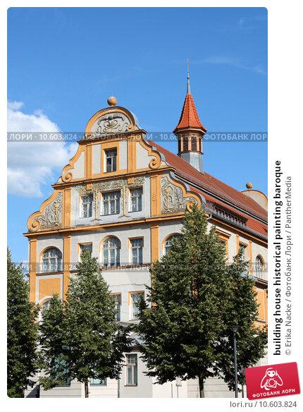 building house historical painting baroque. Стоковое фото, фотограф Erika Nacke / PantherMedia / Фотобанк Лори