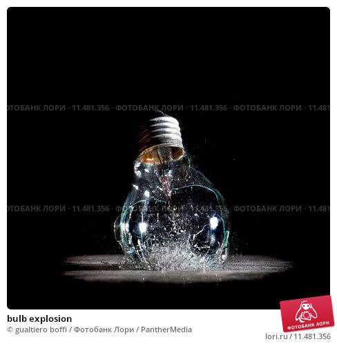 Купить «bulb explosion», фото № 11481356, снято 1 апреля 2020 г. (c) PantherMedia / Фотобанк Лори