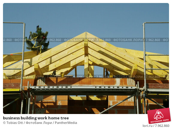 Купить «business building work home tree», фото № 7962860, снято 23 марта 2019 г. (c) PantherMedia / Фотобанк Лори