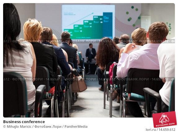 Купить «Business conference», фото № 14659612, снято 14 февраля 2019 г. (c) PantherMedia / Фотобанк Лори