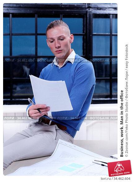 Business, work. Man in the office. Стоковое фото, фотограф Zoonar.com/Yeko Photo Studio / easy Fotostock / Фотобанк Лори