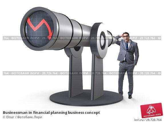 Купить «Businessman in financial planning business concept», фото № 28728764, снято 16 февраля 2019 г. (c) Elnur / Фотобанк Лори