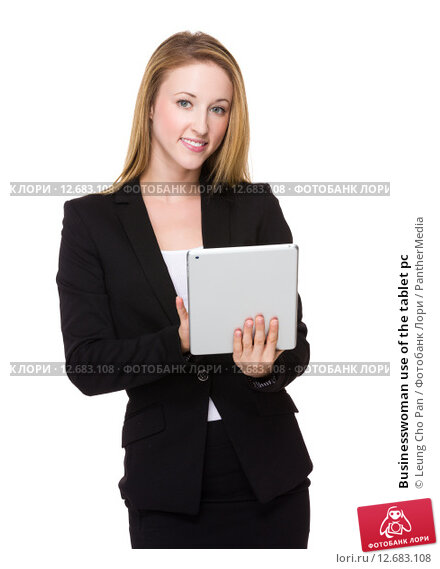 Купить «Businesswoman use of the tablet pc», фото № 12683108, снято 9 ноября 2018 г. (c) PantherMedia / Фотобанк Лори