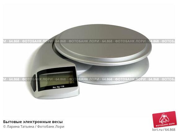 Бытовые электронные весы, фото № 64868, снято 24 июля 2007 г. (c) Ларина Татьяна / Фотобанк Лори