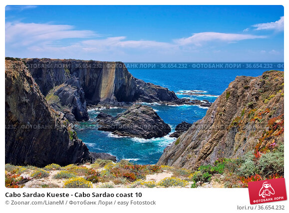 Cabo Sardao Kueste - Cabo Sardao coast 10. Стоковое фото, фотограф Zoonar.com/LianeM / easy Fotostock / Фотобанк Лори