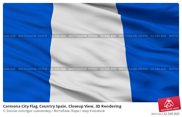 Купить «Carmona City Flag, Country Spain, Closeup View, 3D Rendering», фото № 32545820, снято 7 декабря 2019 г. (c) easy Fotostock / Фотобанк Лори