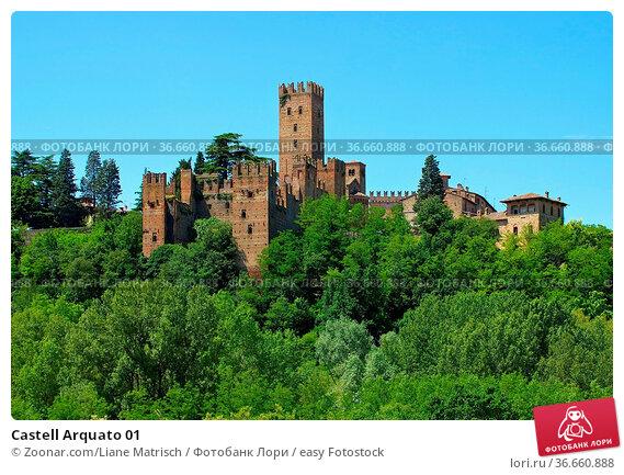 Castell Arquato 01. Стоковое фото, фотограф Zoonar.com/Liane Matrisch / easy Fotostock / Фотобанк Лори