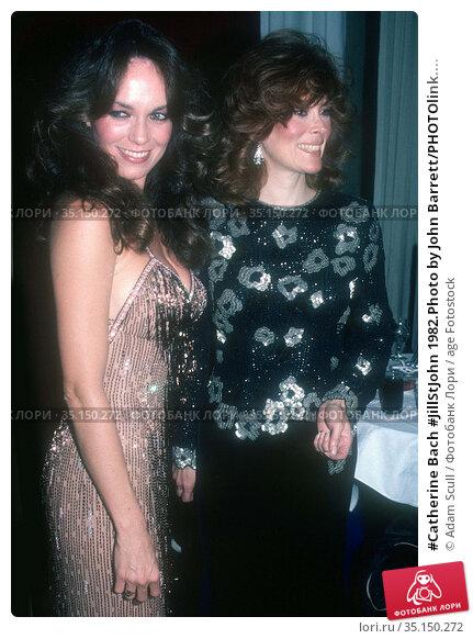 #Catherine Bach #JillStJohn 1982.Photo by John Barrett/PHOTOlink.... Редакционное фото, фотограф Adam Scull / age Fotostock / Фотобанк Лори