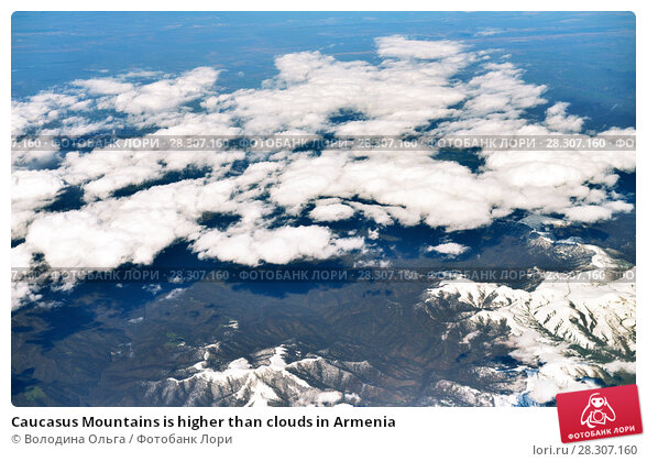 Купить «Caucasus Mountains is higher than clouds in Armenia», фото № 28307160, снято 4 апреля 2018 г. (c) Володина Ольга / Фотобанк Лори