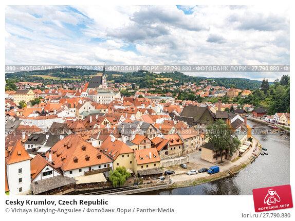 Купить «Cesky Krumlov, Czech Republic», фото № 27790880, снято 22 февраля 2018 г. (c) PantherMedia / Фотобанк Лори