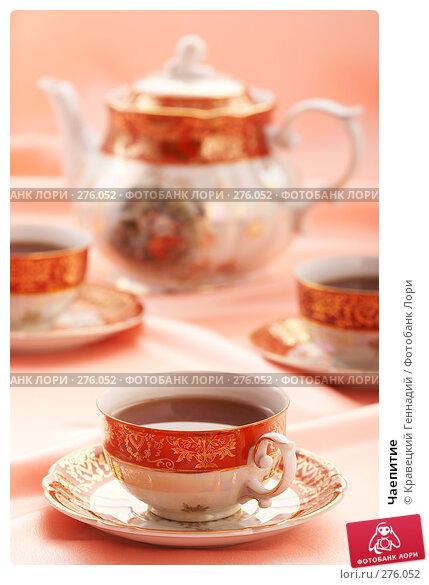 Купить «Чаепитие», фото № 276052, снято 5 декабря 2005 г. (c) Кравецкий Геннадий / Фотобанк Лори