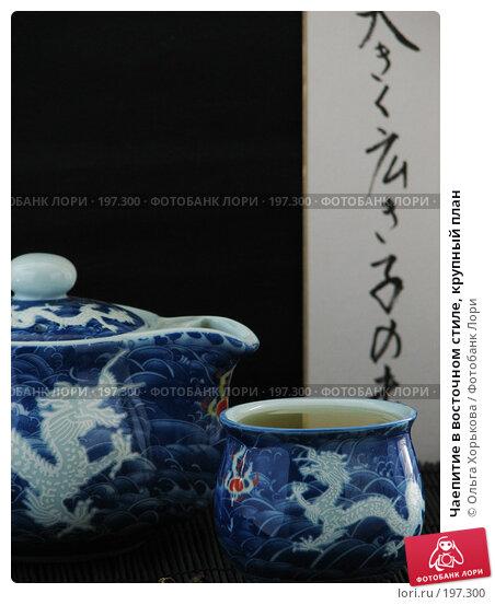 Купить «Чаепитие в восточном стиле, крупный план», фото № 197300, снято 5 мая 2007 г. (c) Ольга Хорькова / Фотобанк Лори