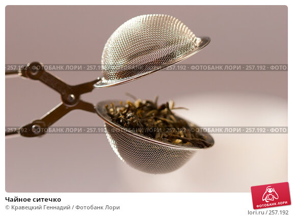 Чайное ситечко, фото № 257192, снято 1 сентября 2005 г. (c) Кравецкий Геннадий / Фотобанк Лори