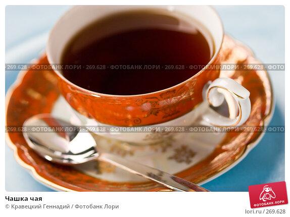 Чашка чая, фото № 269628, снято 3 августа 2005 г. (c) Кравецкий Геннадий / Фотобанк Лори