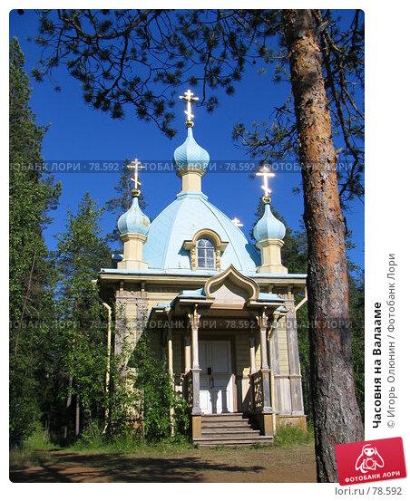 Часовня на Валааме, фото № 78592, снято 8 июля 2005 г. (c) Игорь Олюнин / Фотобанк Лори