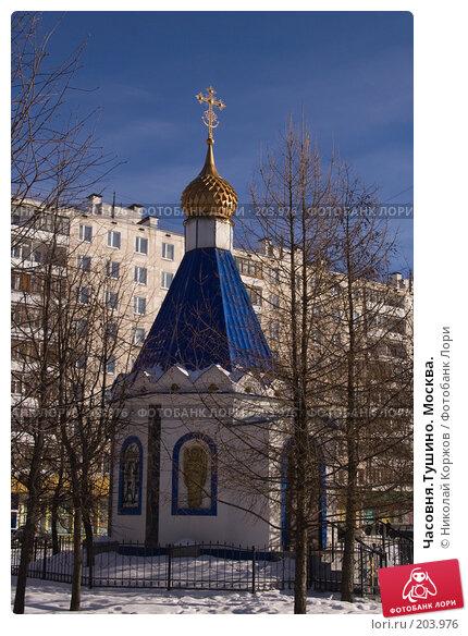 Часовня.Тушино. Москва., фото № 203976, снято 16 февраля 2008 г. (c) Николай Коржов / Фотобанк Лори