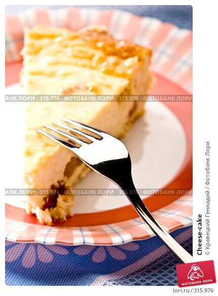 Cheese-cake, фото № 315976, снято 24 июля 2005 г. (c) Кравецкий Геннадий / Фотобанк Лори