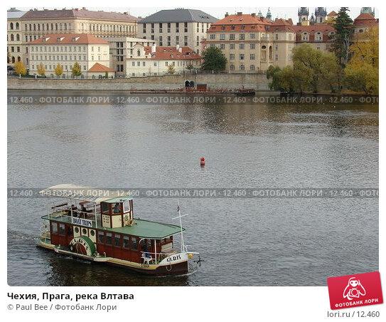 Чехия, Прага, река Влтава, фото № 12460, снято 9 февраля 2006 г. (c) Paul Bee / Фотобанк Лори
