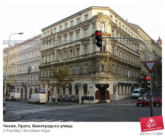 Чехия, Прага, Виноградска улица   , фото № 11844, снято 8 февраля 2006 г. (c) Paul Bee / Фотобанк Лори