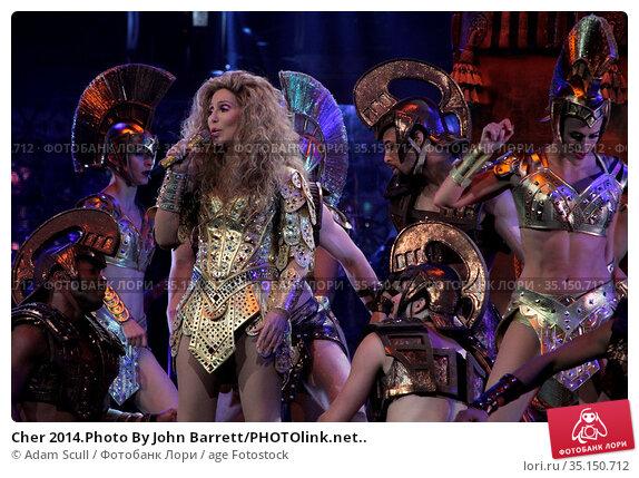 Cher 2014.Photo By John Barrett/PHOTOlink.net.. Редакционное фото, фотограф Adam Scull / age Fotostock / Фотобанк Лори