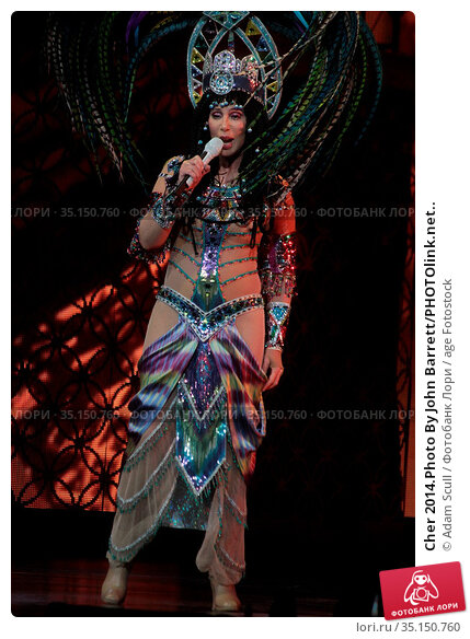 Cher 2014.Photo By John Barrett/PHOTOlink.net.. Редакционное фото, фотограф Adam Scull / age Fotostock / Фотобанк Лори