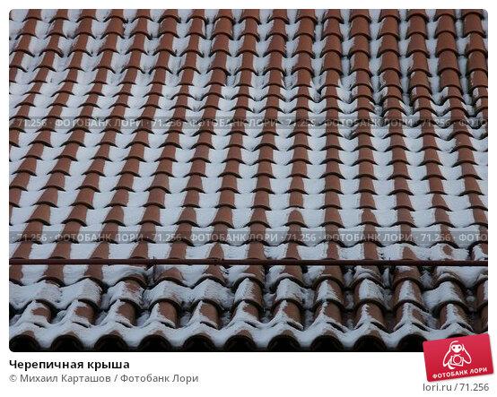 Черепичная крыша, эксклюзивное фото № 71256, снято 27 июля 2017 г. (c) Михаил Карташов / Фотобанк Лори