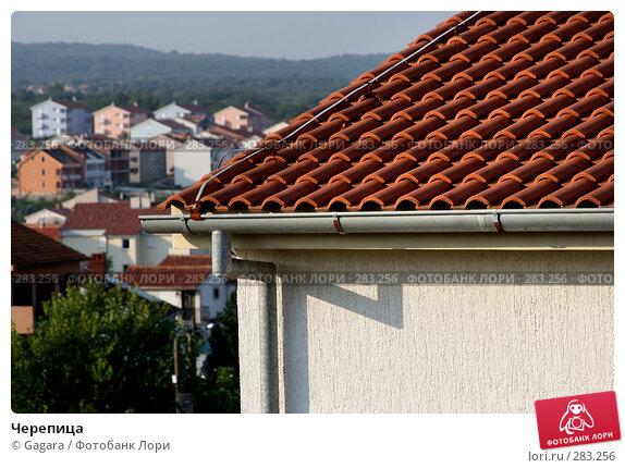 Черепица, фото № 283256, снято 28 сентября 2006 г. (c) Gagara / Фотобанк Лори