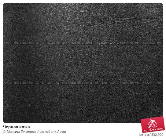 Черная кожа, фото № 332920, снято 9 марта 2008 г. (c) Максим Пименов / Фотобанк Лори