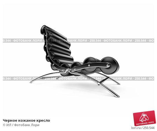 Черное кожаное кресло, иллюстрация № 250544 (c) ИЛ / Фотобанк Лори