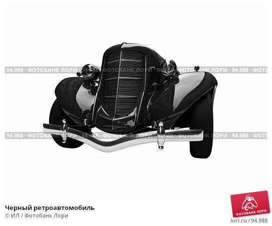 Черный ретроавтомобиль, иллюстрация № 94988 (c) ИЛ / Фотобанк Лори