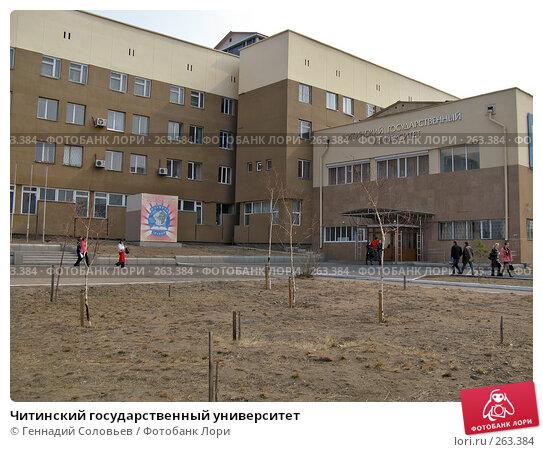 Читинский государственный университет, фото № 263384, снято 24 апреля 2008 г. (c) Геннадий Соловьев / Фотобанк Лори