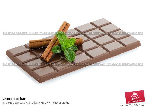 Chocolate bar. Стоковое фото, фотограф Carlos Santos / PantherMedia / Фотобанк Лори