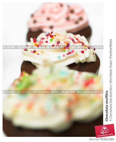 Chocolate muffins . Стоковое фото, фотограф Comaniciu Dan Dumitru / PantherMedia / Фотобанк Лори