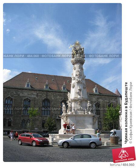 Купить «Чумная колонна в Будапеште», фото № 484060, снято 4 августа 2008 г. (c) Софья Краевская / Фотобанк Лори