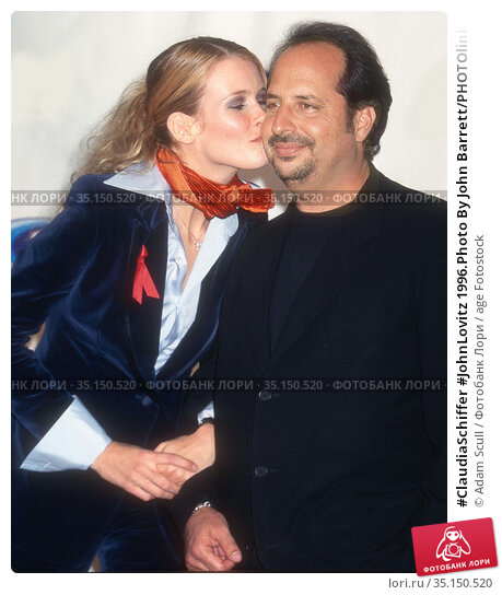 #ClaudiaSchiffer #JohnLovitz 1996.Photo By John Barrett/PHOTOlink... Редакционное фото, фотограф Adam Scull / age Fotostock / Фотобанк Лори