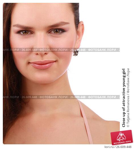 Купить «Close up of attractive young girl», фото № 26609448, снято 29 августа 2012 г. (c) Tatjana Romanova / Фотобанк Лори