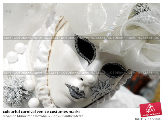 Купить «colourful carnival venice costumes masks», фото № 9772844, снято 23 июля 2019 г. (c) PantherMedia / Фотобанк Лори