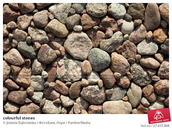 Купить «colourful stones», фото № 27615868, снято 24 июля 2019 г. (c) PantherMedia / Фотобанк Лори