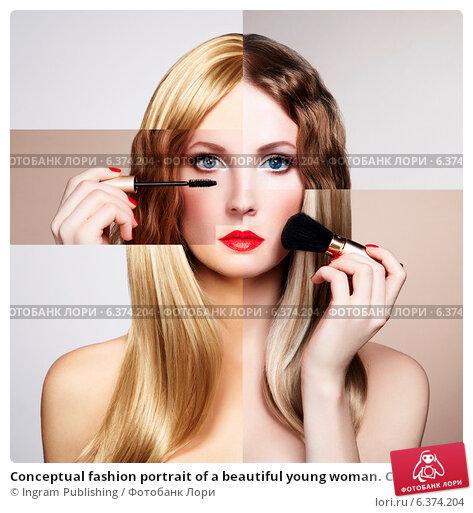 Купить «Conceptual fashion portrait of a beautiful young woman. Conceptual collage», фото № 6374204, снято 6 ноября 2018 г. (c) Ingram Publishing / Фотобанк Лори