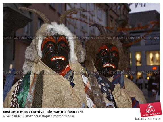Купить «costume mask carnival alemannic fasnacht», фото № 9774944, снято 17 июля 2019 г. (c) PantherMedia / Фотобанк Лори