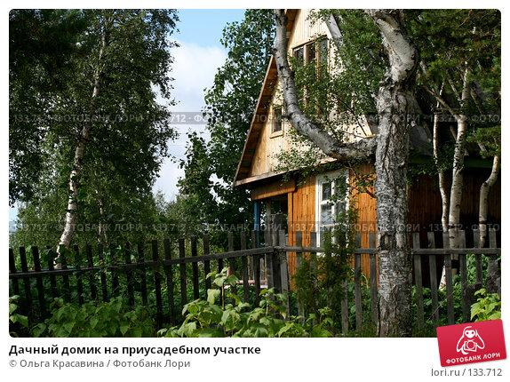 Купить «Дачный домик на приусадебном участке», фото № 133712, снято 20 августа 2006 г. (c) Ольга Красавина / Фотобанк Лори
