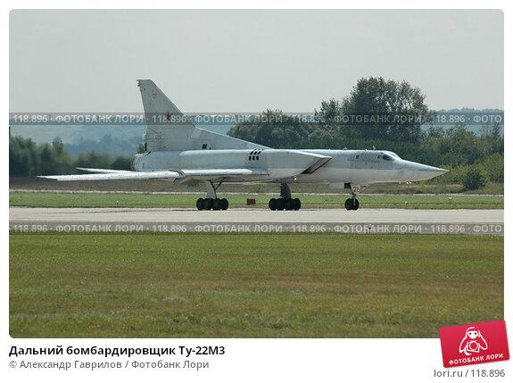 Дальний бомбардировщик Ту-22М3, фото № 118896, снято 25 января 2004 г. (c) Александр Гаврилов / Фотобанк Лори