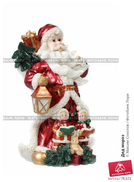 Купить «Дед мороз», фото № 78672, снято 27 июля 2007 г. (c) Максим Соколов / Фотобанк Лори